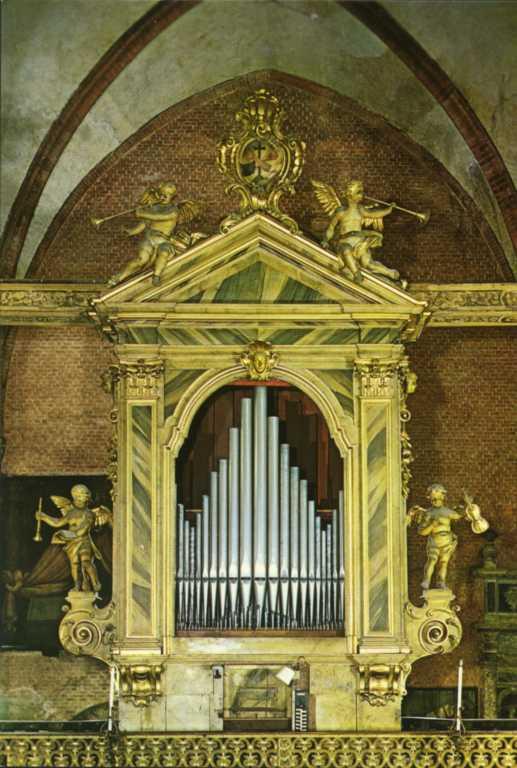 L'organo della Chiesa dei Frari a Venezia