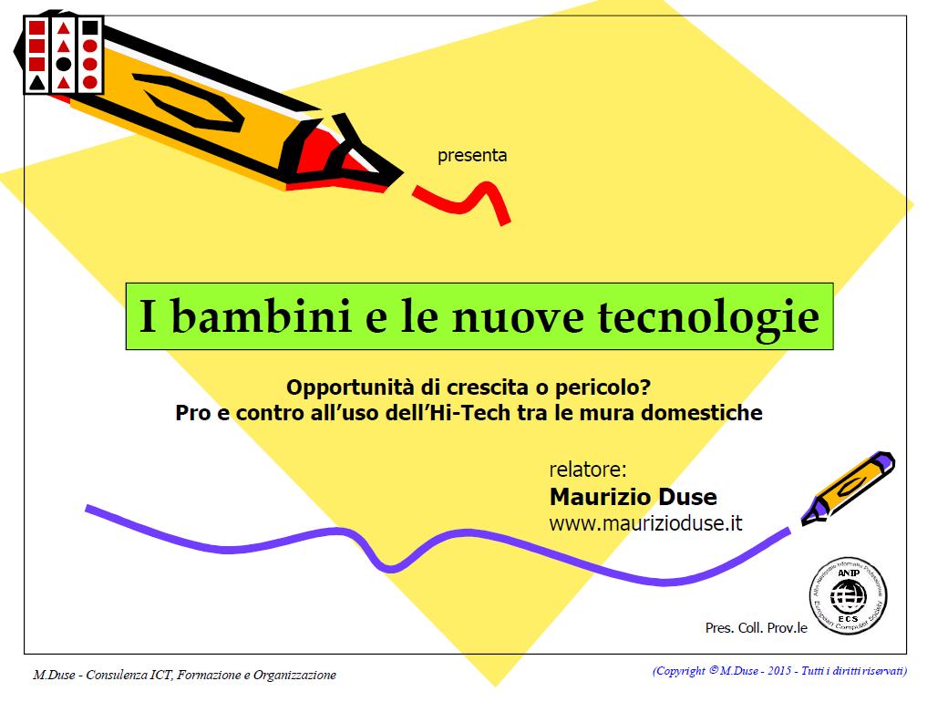 Cover della presentazione